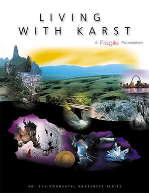 """Click to Download """"Living With Karst"""" Publication"""